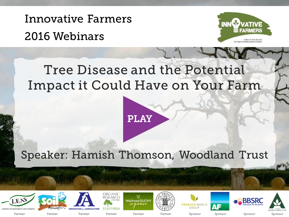 Tree Disease Potential Impact On Farm